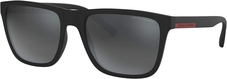AX Armani Exchange Men's Ax4080s Square Sunglasses