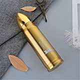 Botella deportiva Balas de acero inoxidable Copas dobles de vacío Regalos militares Memorial aficionados militares estudiantes 500 ml