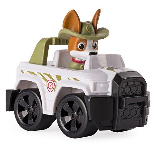 PAW PATROL – Rescue Racer – Tracker im Jeep – Fahrzeug