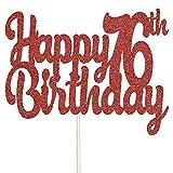 Decorazione per torta con brillantini per il 1° compleanno, decorazione per torta di compleanno – disponibile in vari colori