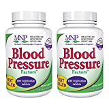 Michael's Naturopathic Programs Blood Pressure Factors - 180 Vegetarian Tablets, 2 Pack - Blood Pressure Support, Nourishes Cardiovascular & Nervous Systems - Gluten Free, Kosher - 120 Total Servings