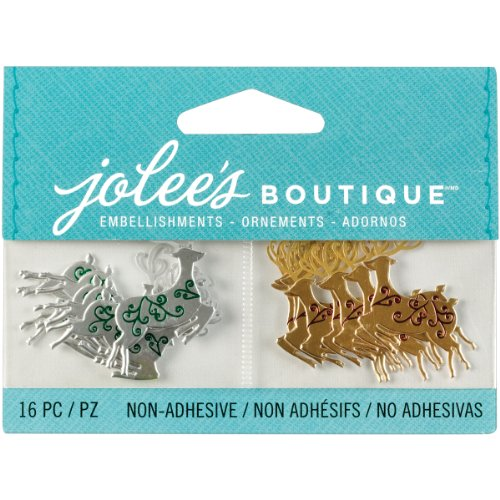 Jolee's Boutique 0015586970173 (Jolly Boutique) Mini Reindeer 50-00621, Other
