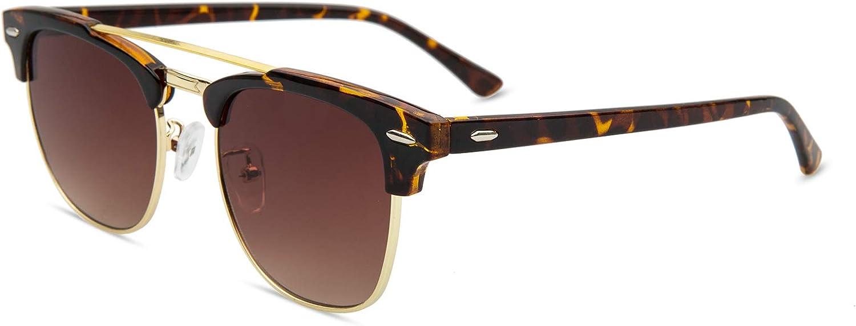 Diovento Classic Aviator Polarized Sunglasses for Men Women Wayfarer Double Beam
