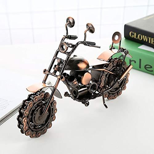 Gannon Front Übergroße Harley Eisen-Motorrad-Modell-Dekoration Vintage-Handwerk Kreative Jungen Geschenk 26cm * 12cm * 19cm