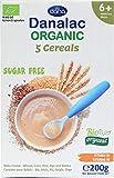 DANALAC Organic Baby Cereal (Five Cereals) 200 Gram Porridge Sugar Free 6 Months