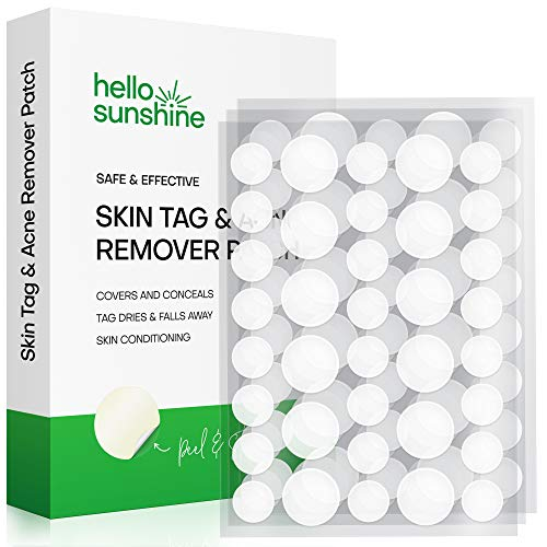 Skin Tag and Acne Remover Patches, Tags dries and fall away,Natural Ingredients, improved formulation skin tag remover (108 Pcs)