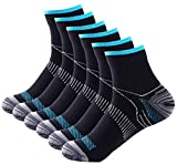 Johnda Compression Socks for Men and Women, Plantar Fasciitis Arch Support Foot Relieve Pain Supports Heel