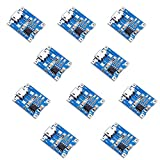 ZHITING 10pcs Micro USB 5V 1A 18650 TP4056 Módulo de Cargador de batería de Litio Tablero de Carga con protección Funciones Dobles 1A Li-Ion