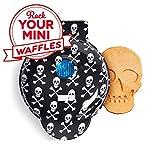 DASH DMWS100SP Mini Maker-Waffle, BLACK SKULL