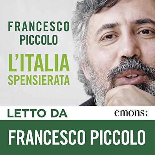 L'Italia spensierata audiobook cover art