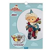 Unser Sandmaennchen Kinderkalender 2022 Familienkalender: Wandkalender