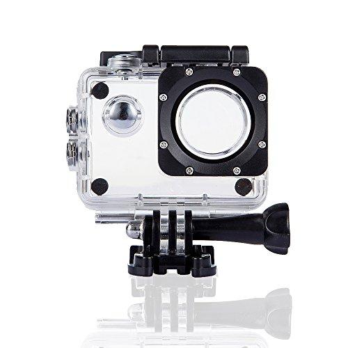 DBPOWER Action Camera zubehörkits, Wasserdichtes Gehäuse