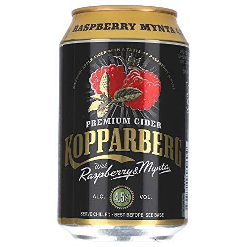 Kopparberg Raspberry Mynta 4,5% 24 x 0,33 ltr.