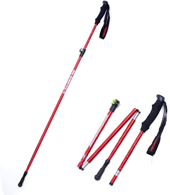 ZJX 1 stück Frauen Wanderung Spazierstcke Aluminium Camping Klettern Wanderstcke Trekking Pole