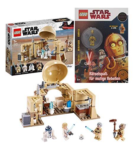 Legoo Lego Star Wars-Set: 75270 - Obi-WANS Hütte + Rätselspaß für mutige Rebellen, ab 7 Jahren
