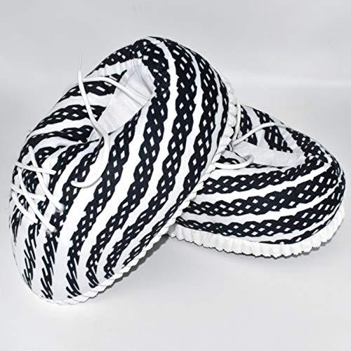 WXDC Pantuflas de pan suave y esponjosas de un tamaño único.