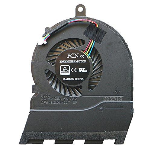 DENGHUXIE Ventilador para Dell Inspiron 15-5565 15-5567 17-5767 P66F CN-0789DY CN-0JMH30