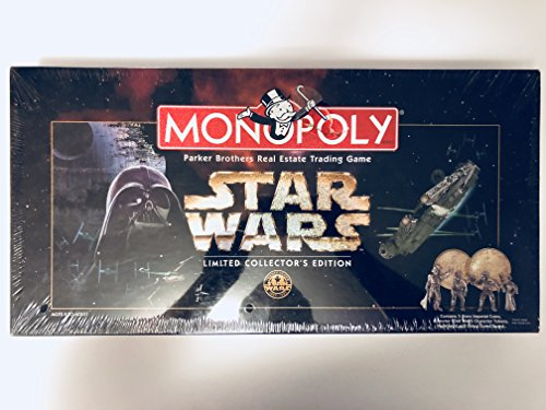 Hasbro 1997 Star Wars Monopoly Limited Collector's 20th Anniversary Edition