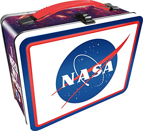 Aquarius NASA Logo Tin Fun Box