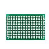 10PCs 4 x 6cm PCB Prototipo de Doble Cara Placa de Circuito Impreso Universal Placa de Cir...