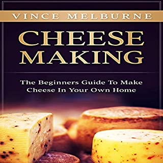 Cheese Making audiobook cover art