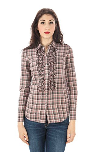 FRED PERRY 31213264 Camisa con las mangas largas Mujer rose 0031 S