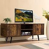 ADHW Fernsehschrank TV Schrank Fernsehtisch Lowboard Fernseher Schrank Unterschrank Holz 120X40X50CM