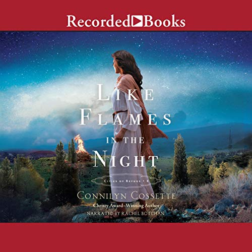 Like Flames in the NIght audiobook cover art