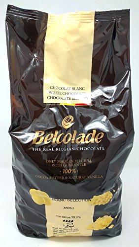 Belcolade 28% pepitas de Chocolate Blanco 5kg