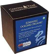 Capital Teas Organic Tea Sachets, Slimming Oolong, 20 Count
