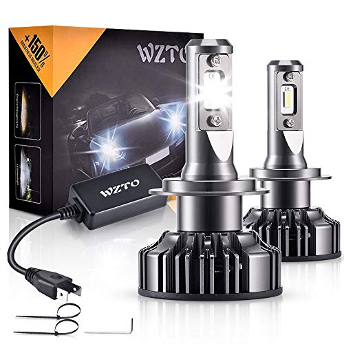 Ampoule H7 LED,WZTO 12000LM Super Bright...
