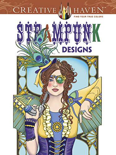 Price comparison product image Creative Haven Steampunk Designs Coloring Book (Creative Haven Coloring Books)