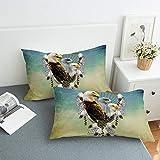 ZHYU Die Neue Adler Federkissen Textile Betten,50cmx75cm