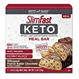 SlimFast Keto Meal Replacement Bar...