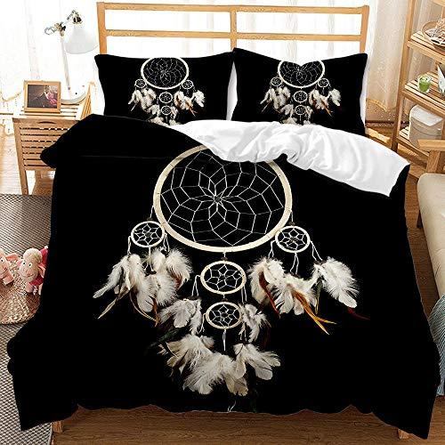 Bedclothes-Blanket Funda nórdica 3D 220x240,Caso 3D Conjunto de Tres Piezas de Star Sueños Airmativos Star-6_210 * 210