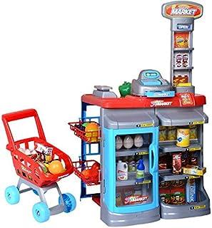 مجموعة سوبرماركت المنزل للعب الاطفال - اصنعها بنفسك
