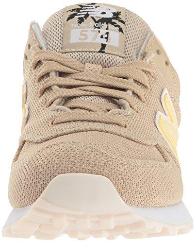 New Balance WL574, Zapatillas Deportivos Mujer, Sand/Pollen, 40 EU (8.5 US)