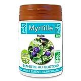 Myrtille BIO   60 gélules   Bien Être Au Quotidien   320 mg dosage 100% naturel sans additif et non comprimé   EKI LIBRE