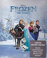 Frozen:  The Songs Zinepak (Cd+Mini-Mag+Poster+ Sticker)