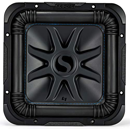 Kicker 44L7S104 Car Audio Solo-Baric 10' Subwoofer Square L7 Dual 4 Ohm Sub (Renewed)