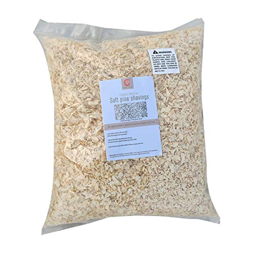 YU YAO Fresh Pine Flakes-Pine Shavings for Chicken Bedding Poultry Supplies Chicken Coop Bedding- Poultry Supplies Chicken Bedding Nest Liners Chickens -Keep The Chicks Warm -Fresh Deodorant -2.9lb