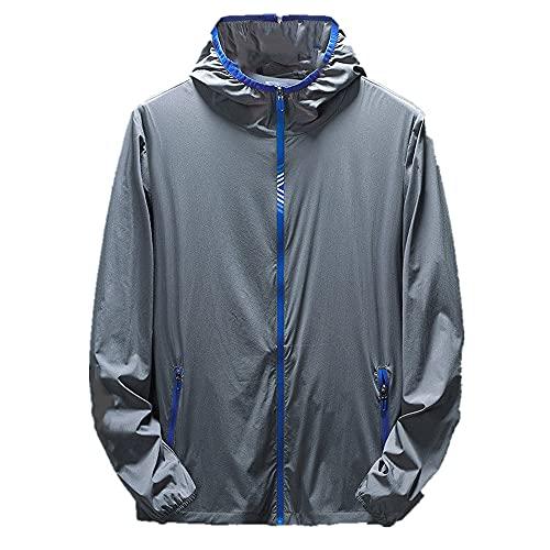 Hombres protección solar ropa chaqueta primavera otoño hombres protección piel