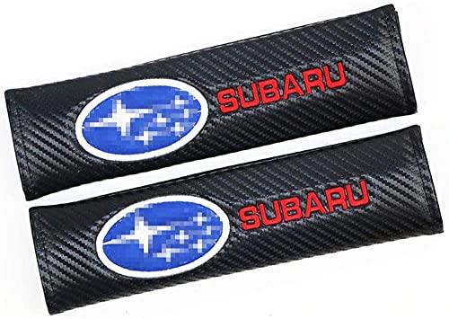 2 Piezas Coche Almohadillas para Cinturón de Seguridad para Subaru, Coche Hombro Correa Protector Accesorios Interiore