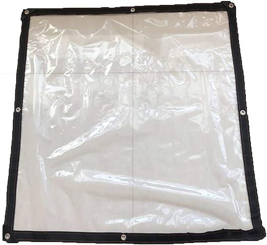 Z&YY Bache en Plastique pour la Couverture végétale, Feuille de Sol Anti-poussière Transparente de PE Recouvre Le Tissu versé pour Les camions et Les Voitures Thick 12mm d'épaisseur
