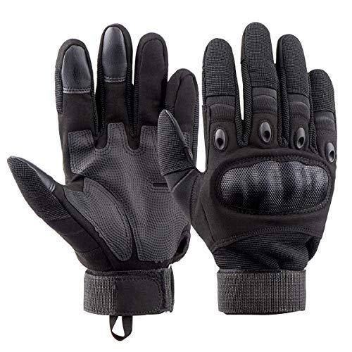 Vintoney Motorhandschoenen, heren, tactische handschoenen, touchscreen, sporthandschoenen voor outdoor, motorfiets, fiets, airsoft, militair paintball, MEHRWEG