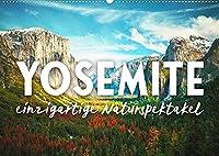 Yosemite - Einzigartige Naturspektakel (Wandkalender 2022 DIN A2 quer): Ein wahres Wunder der Natur. (Monatskalender, 14 Seiten )