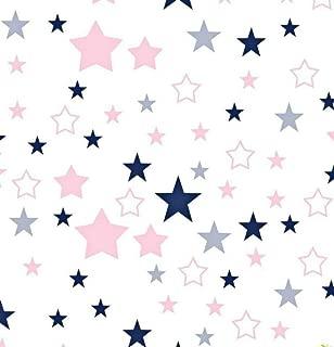 160 cm Lindo Colorido B/úho Impreso 100/% Tela de Algod/ón para Ropa de Cama Del Beb/é Textil Patchwork Edred/ón de Tela de Coser por Metros Una pieza 50 cm