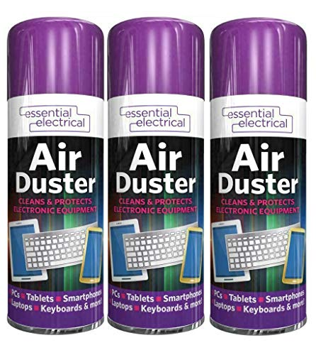 FGT Air Duster 200Ml Aerosol Spray Electrical Essentials Cleaner & Protect Mobile Keyboard Mouse Pcs's and Much More (3)