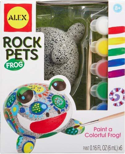 Alex Craft Rock Pets Frog Kids Art and Craft Activity