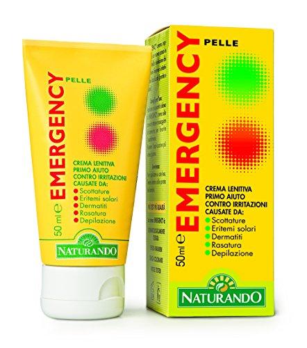 Naturando Emergency 50 Ml. Crema lenitiva ed emolliente con Tea Tree Oil per irritazioni e arrossamenti